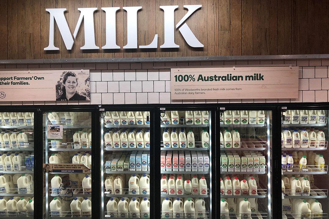 Woolworths gaat melkveehouders subsidies verstrekken. - Foto: René Groeneveld