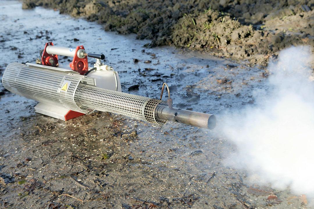 Met verkeerde heetvernevelingsapparatuur kunnen Argos en 1,4Sight vlam vatten.