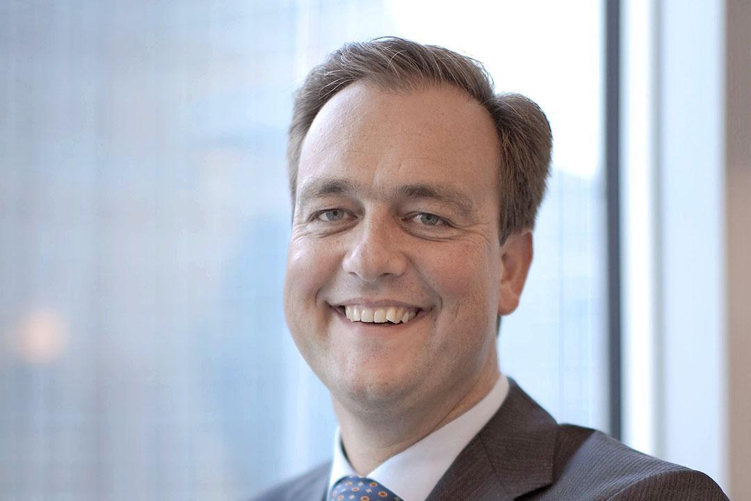 Bas Rüter is directeur Duurzaamheid bij Rabobank. Hij is binnen Rabobank verantwoordelijk voor de verdere uitwerking van het grondfonds. - Foto: Rabobank