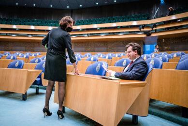 Parlementariërs Helma Lodders (VVD) en Jaco Geurts (CDA) stelden Kamervragen over de 'drempeltjesregel' voor de akkerbouw. - Foto: ANP