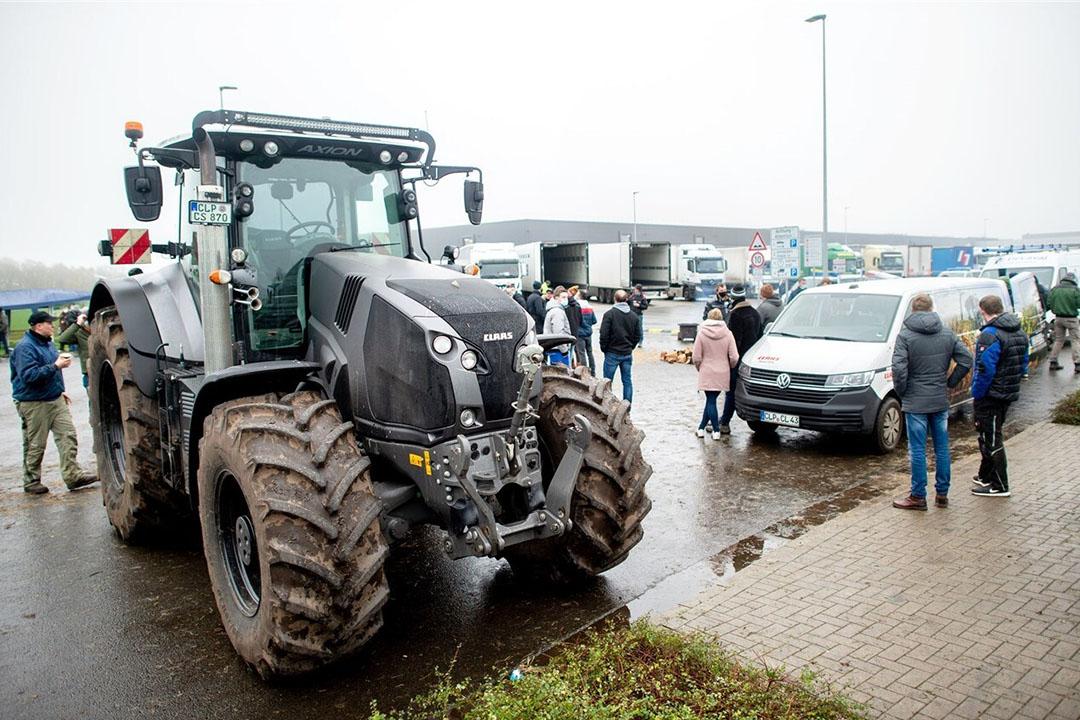 In december was het vooral Lidl die boze boeren aan de poort kreeg. Dat ging onder meer om de lage prijzen die varkensboeren krijgen voor varkensvlees. Foto: ANP