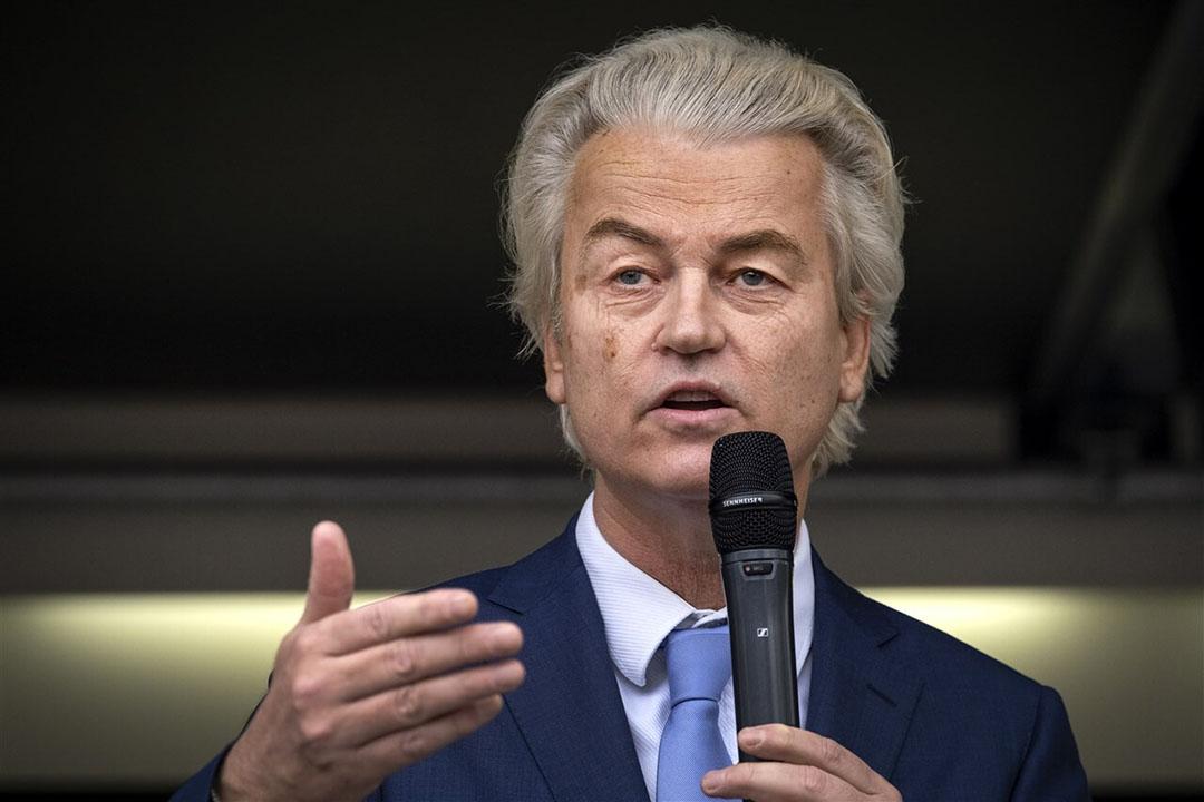 PVV-leider Geert Wilders. - Foto: Ramon van Flymen / Hollandse Hoogte / ANP