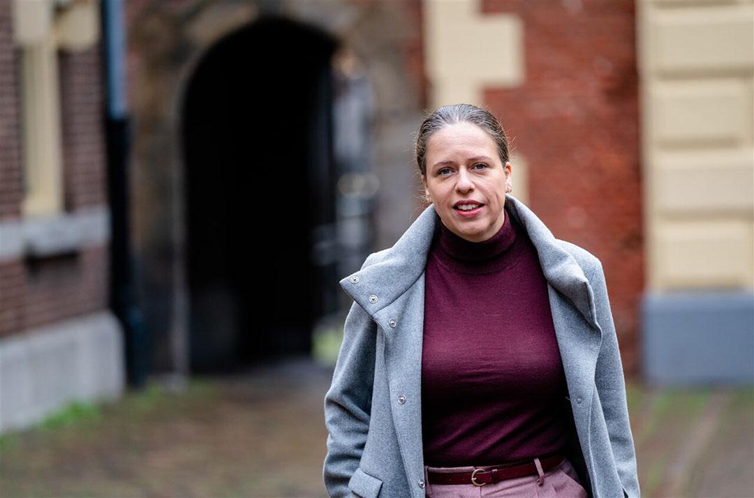 Volgen minister van landbouw Carola Schouten is het voor zowel dierenwelzijn als herstel van de prijzen van het grootste belang dat de kalversector het lang transport en (daarmee) de import beperkt. - Foto: ANP