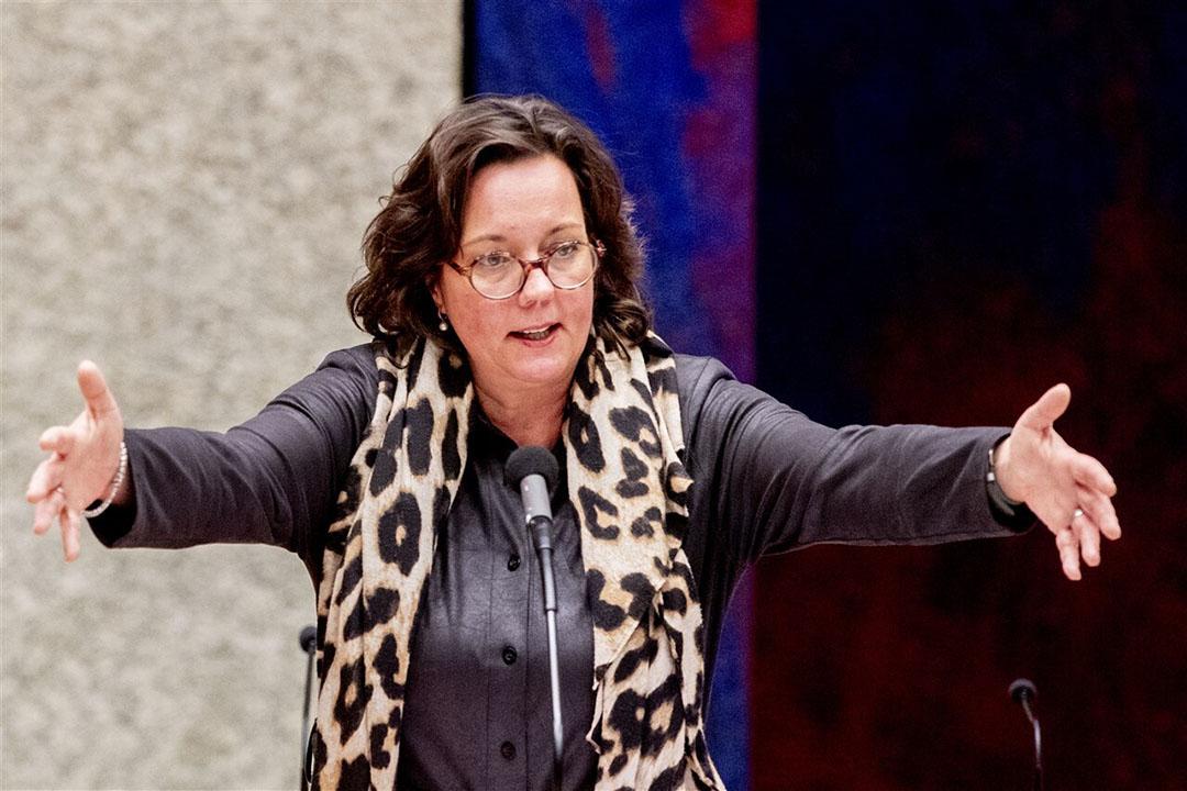 Minister Tamara van Ark voor Medische Zorg en Sport. - Foto: ANP