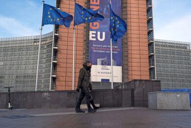 Het hoofdkwartier van de Europese Commissie in Brussel. De wijze waarop de Commissie ambities in het nieuwe GLB probeert te verwerken, wekt ergernis. - Foto: ANP