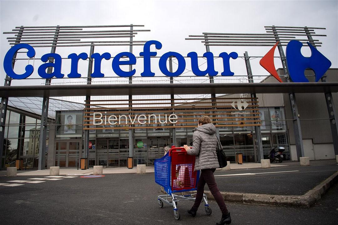 Het Canadese bedrijf heeft het bod inmiddels ingetrokken, maar praat wel verder met Carrefour over mogelijke samenwerking bij de inkoop of op andere terreinen. Foto: ANP