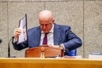 Minister Ferd Grapperhaus van Justitie en Veiligheid. Foto: ANP