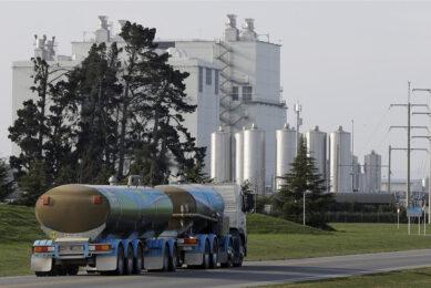 Melkwagen van Fonterra in Christchurch, Nieuw-Zeeland. - Foto: ANP