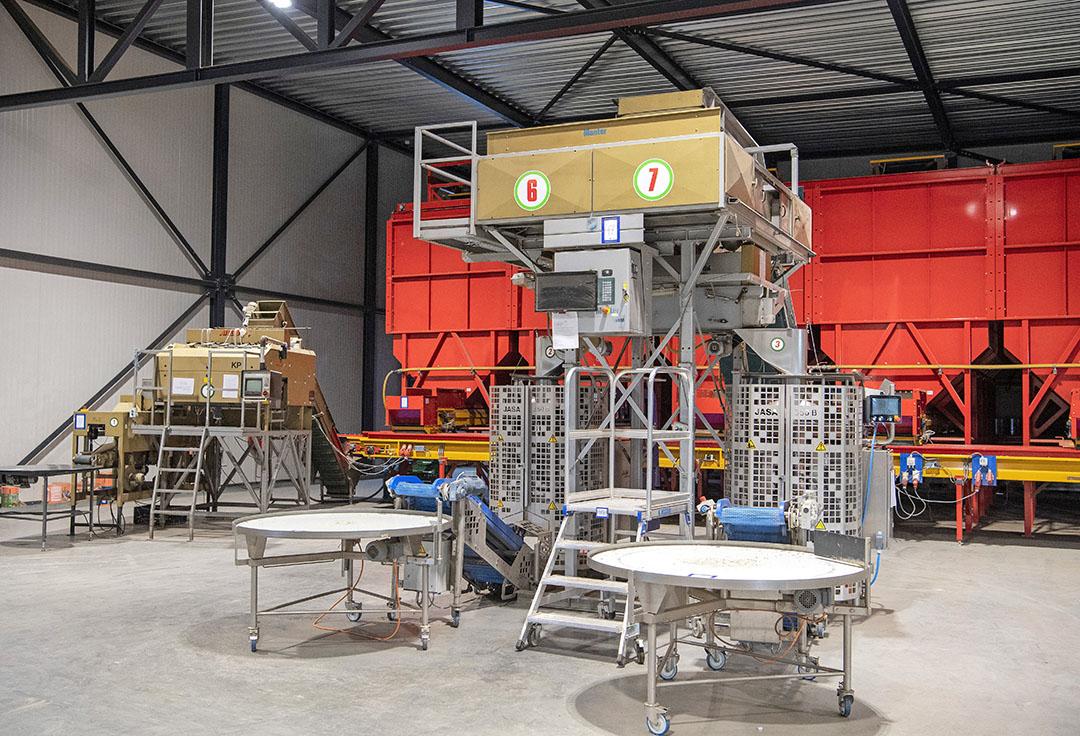 De fabriekshal is in 2016 in gebruik genomen. De verpakkingsmachines zijn in zeer goede staat.