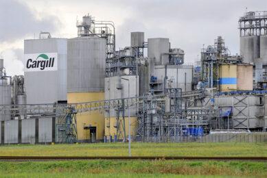 De fabriek van Cargill in Sas van Gent. Foto: ANP