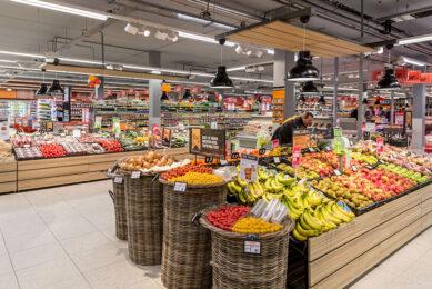 Coop introduceert een nieuw logo waarmee direct zichtbaar is welke producten van Hollandse bodem komen. - Foto: Coop