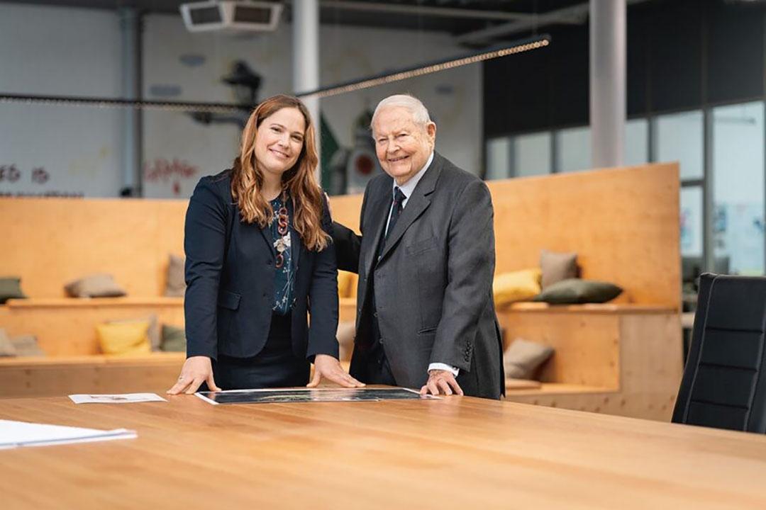 Het voorzittersschap van de directie van het mechanisatieconcern had Helmut Claas de laatste jaren overgedragen aan zijn dochter Cathrina Claas-Mühlhäuser. Foto: Claas