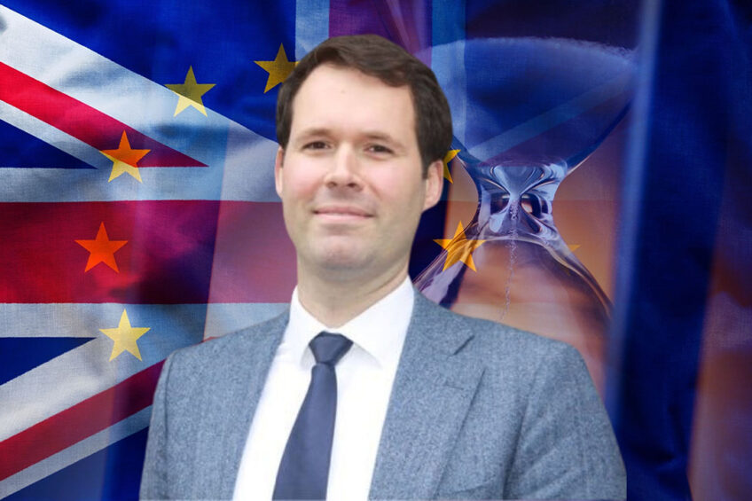 Tim Heddema is landbouwattaché op de Nederlandse ambassade in Londen. - Foto: Canva en Tim Heddema
