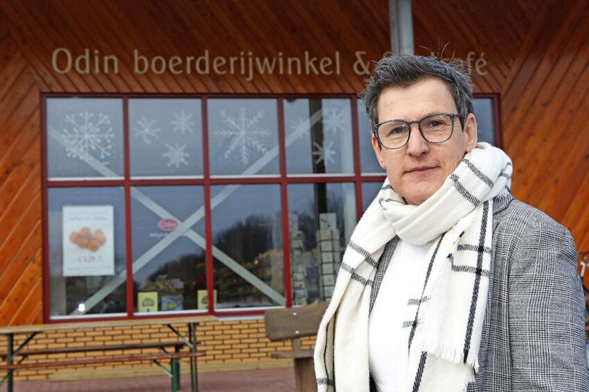 Merle Koomans (50) is directeur van biologische coöperatie Odin. - Foto: Ton Kastermans