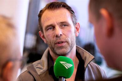 Jeroen van Maanen, vice-voorzitter van de Nederlandse Melkveehouders Vakbond. - Foto: ANP
