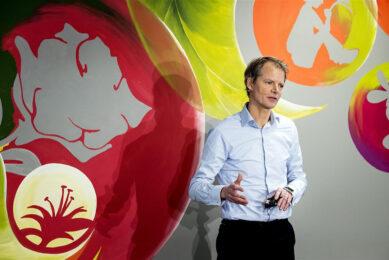 Bas Brouwers, de financiële topman van Rabobank. Foto: ANP
