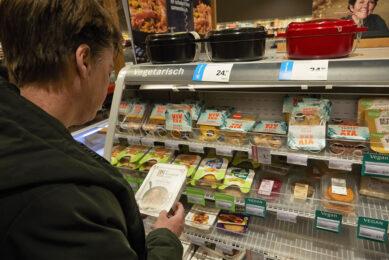 Supermarkten als Jumbo en Albert Heijn hebben ook een steeds groter assortiment met vegan producten. Foto: ANP
