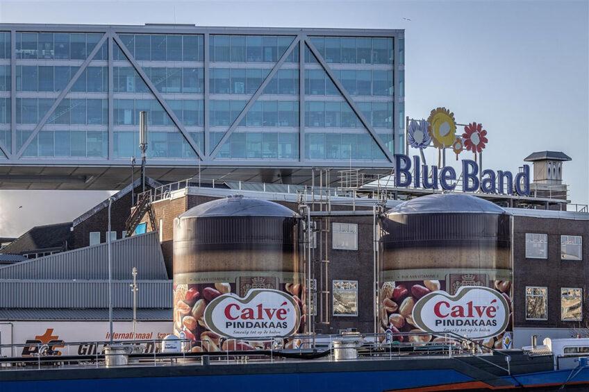 Kantoorpand Unilever aan de Nassaukade in Rotterdam Foto: Rias Immink via ANP