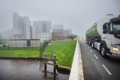 Een zuivelfabriek van FrieslandCampina. - Foto: ANP/Marcel van Kammen