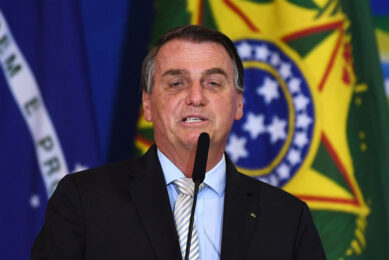 De bestuursraad van Petrobras stemt binnenkort over de benoeming van de door Bolsonaro (foto) voorgedragen kandidaat Joaquim Silva e Luna tot CEO van Petrobras. Foto: ANP