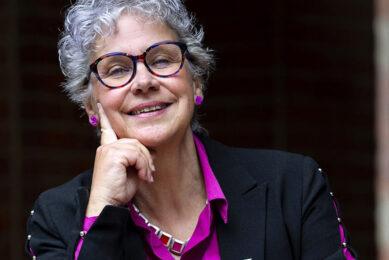 Ellen Verkoelen (63) is fractievoorzitter van 50Plus in de gemeenteraad van Rotterdam. Ze staat op plek 3 op de lijst van 50Plus. - Foto: ANP