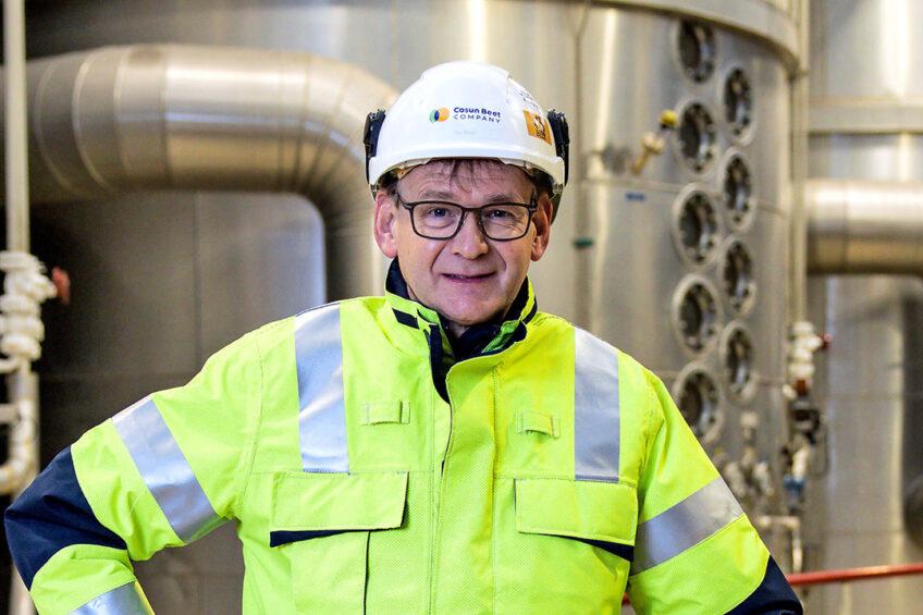 """Luc Kroes: """"We kunnen steeds meer componenten uit de biet tot waarde brengen."""" - Foto: Peter Roek"""