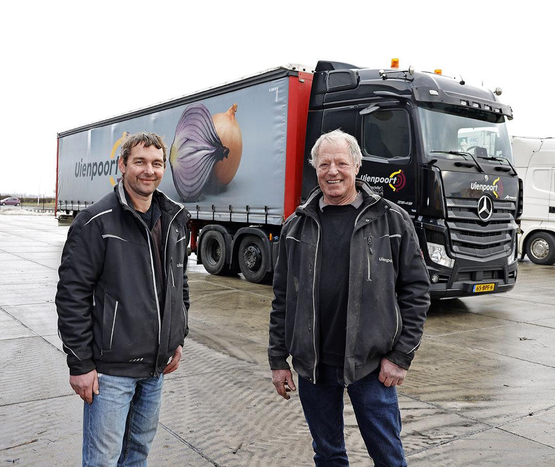 Uienpoort BV is opgericht door de twee compagnons  Wilco Boeve (40) en Willy Dickmann (63, rechts).