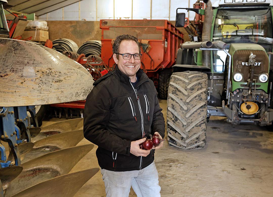 Martijn van Es levert al vele jaren uien met retailbestemming aan Uienpoort.