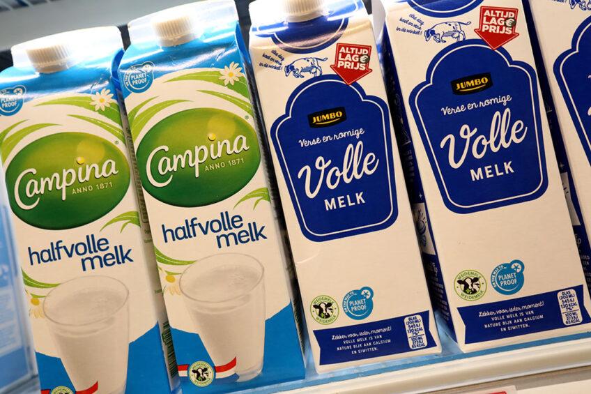 PlanetProof-melk in de schappen. Foto: Henk Riswick