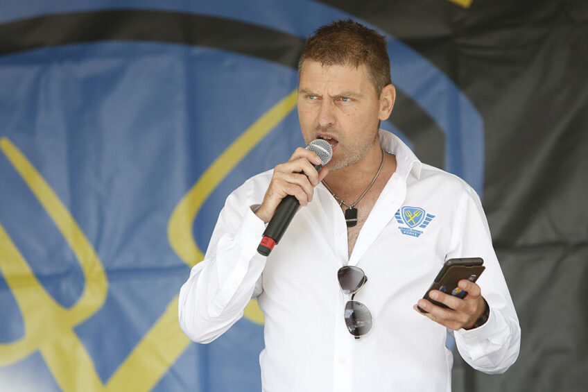 Mark van den Oever, voorzitter van Farmers Defence Force. Foto: Ton Kastermans Fotografie
