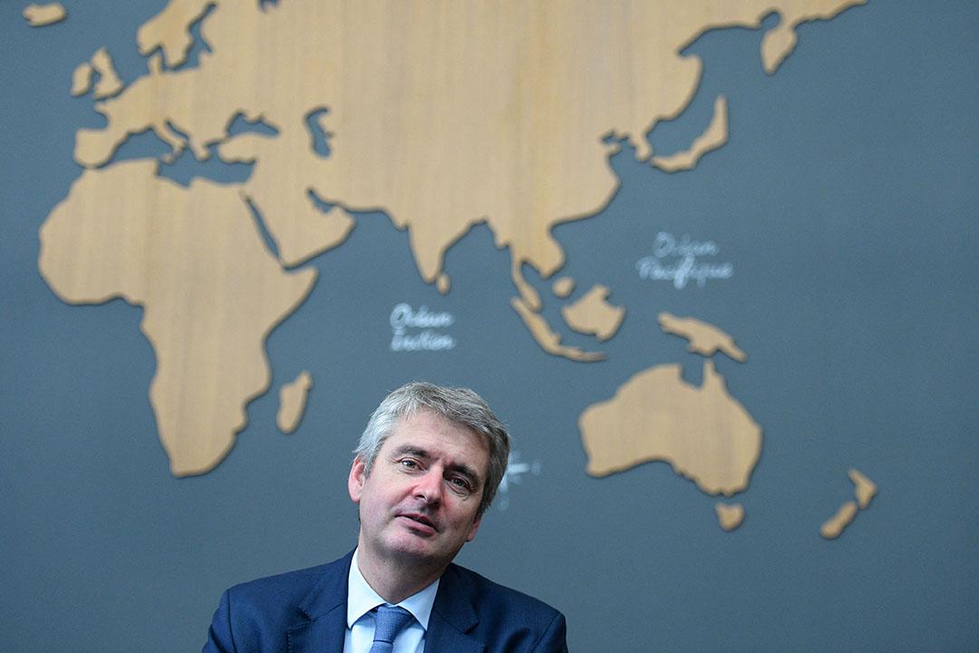 Bestuursvoorzitter en eigenaar van Lactalis Emmanuel Besnier. - Foto: AFP