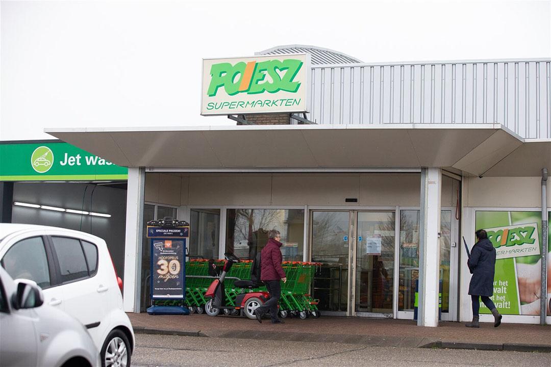 De supermarktketen Poiesz beschikt over 69 vestigingen in noorden van het land. Foto: ANP