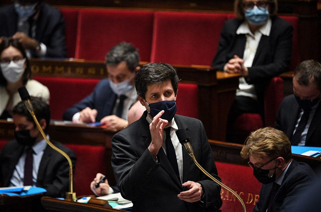 Franse minister Julien Denormandie van landbouw. - Foto: ANP