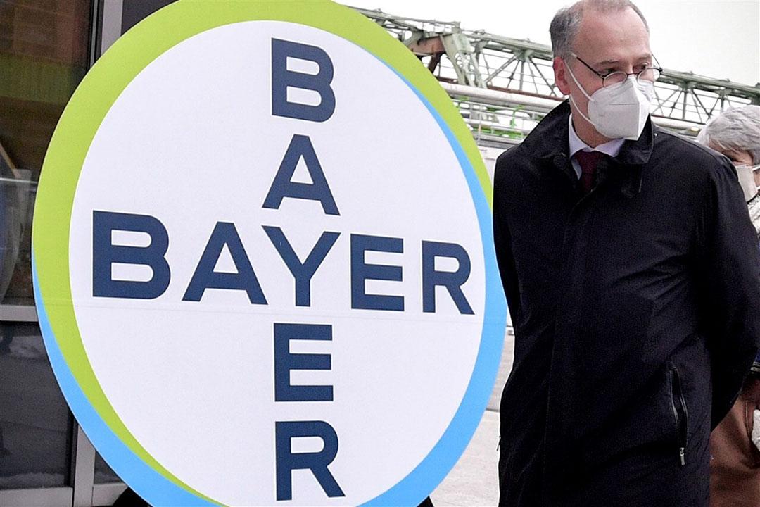 Werner Baumann, CEO van Bayer. Foto: ANP