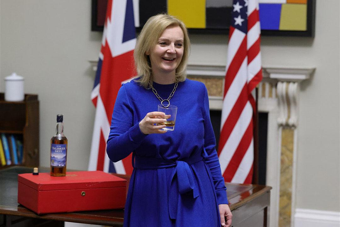 De Britse minister voor internationale handel Liz Truss. - Foto: ANP