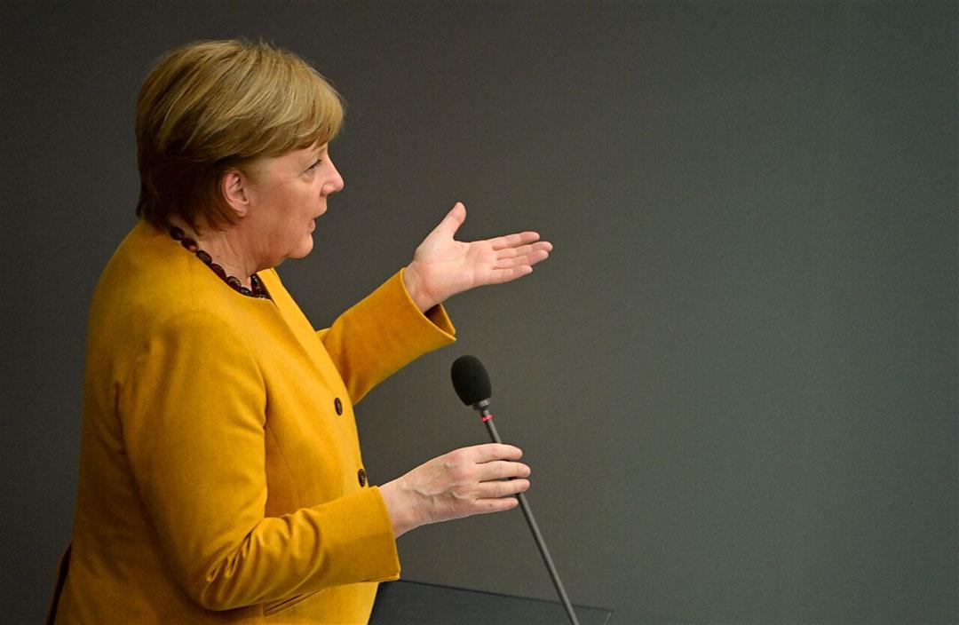 Bondskanselier Angela Merkel. - Foto: ANP
