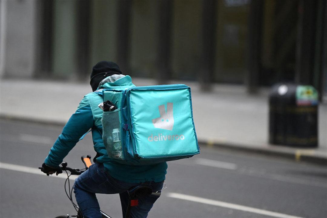 De beurskoers van Deliveroo is bij beursgang direct flink onderuit gegaan. - Foto: ANP