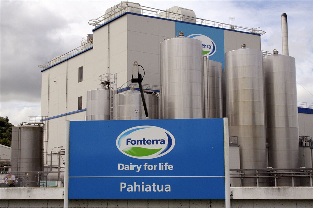 Zuivelfabriek van Fonterra in Nieuw-Zeeland. - Foto: ANP