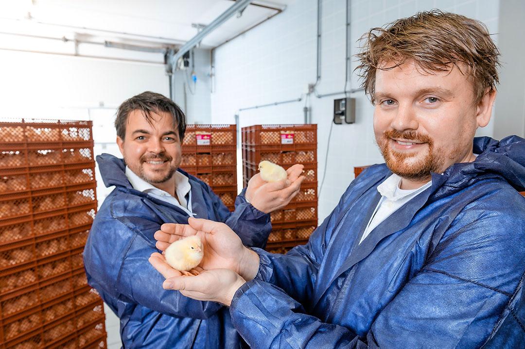 De oprichters van In Ovo: Wil Sutterheim (links) en Wouter Bruins (rechts).