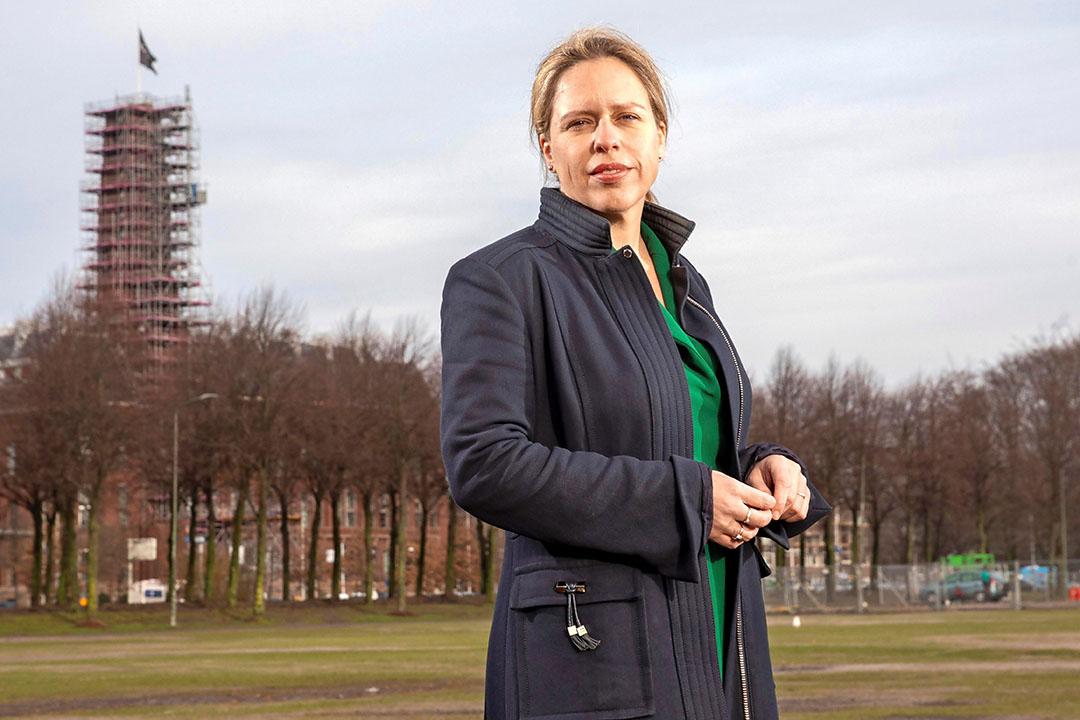 De steun voor minister Carola Schouten brokkelt af in haar eigen achterban van de ChristenUnie. Slechts 10% van de CU-stemmers is tevreden over het landbouwbeleid. Foto: Marc Heeman