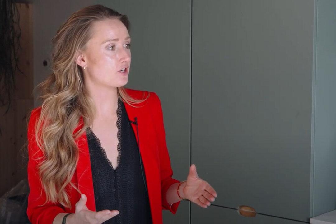 Oprichter van Stichting Nationale Week Zonder Vlees Isabel Boerdam. - Beeld: Imago Mediabuilers