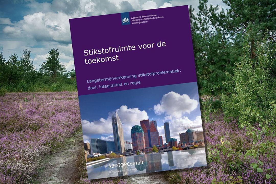 Afbeelding: Canva en rapport 'Stikstofruimte voor de toekomst'