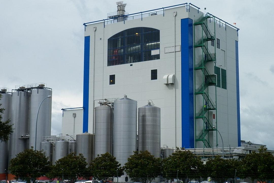 Fonterra-fabriek in Waitoa (N-Z). Foto: Fonterra