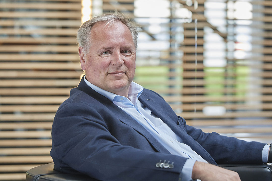 """Ronald Lotgerink, CEO Vion: """"We zijn een Europees bedrijf, dus we kijken verder dan Nederland, België en Duitsland, ook naar groeimarkten zoals Polen."""" Foto: Van Assendelft Fotografie"""