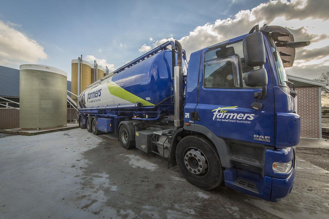 Het totale volume aan producten van ForFarmers (Total Feed) daalde met 3,5% tot 9,7 miljoen ton. Het volume mengvoer daalde met 3,9% tot 6,8 miljoen ton. Foto: Koos Groenewold