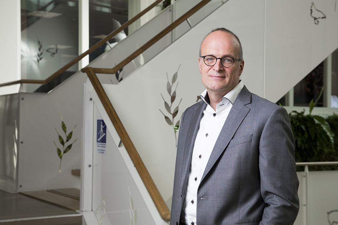 """CEO van Agrifirm Dick Hordijk: """"De verwegexport zal voor Nederland verdwijnen. Ik denk dat Nederland moet kijken naar Europa, naar wat de vraag daar is en daar dan op inspelen."""" Foto: Koos Groenewold"""