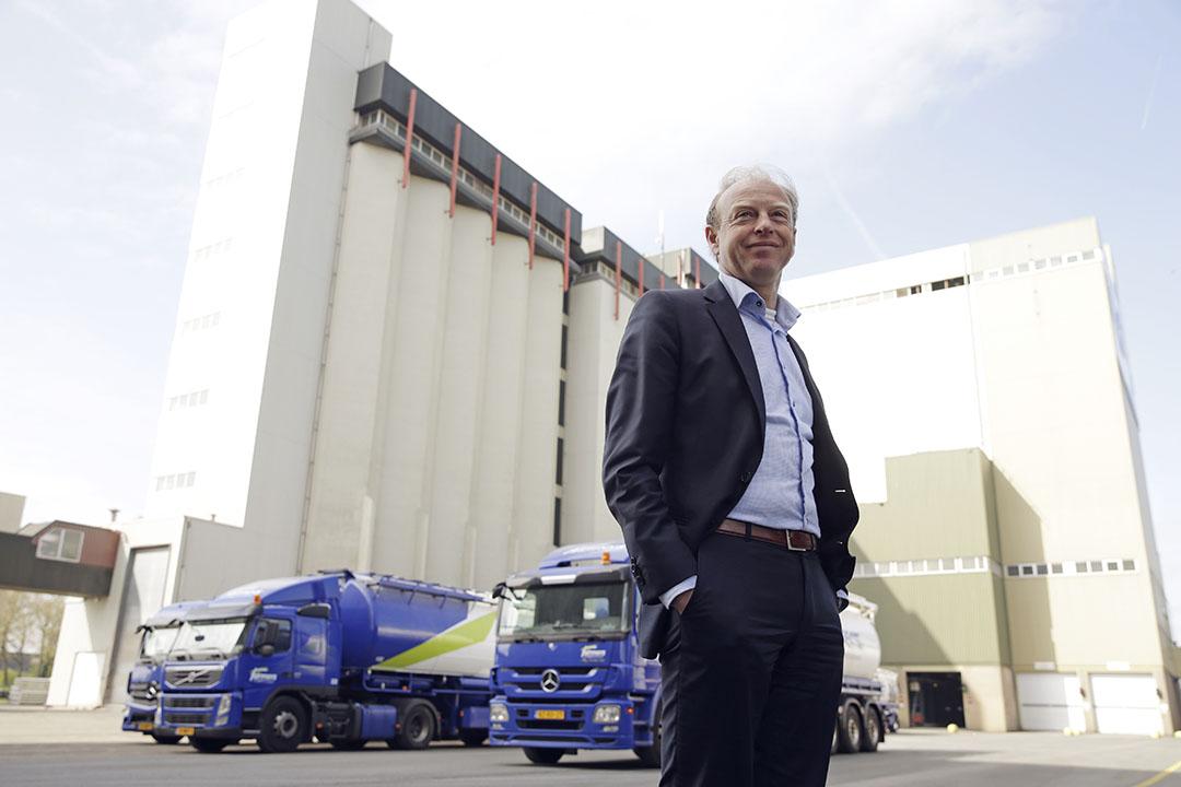 """""""Een onderneming die niet groeit, houdt uiteindelijk op te bestaan"""", zo zei CEO Yoram Knoop van ForFarmers vorig jaar in een interview met Boerderij over de nieuwe strategie. Foto: Michel Zoeter"""
