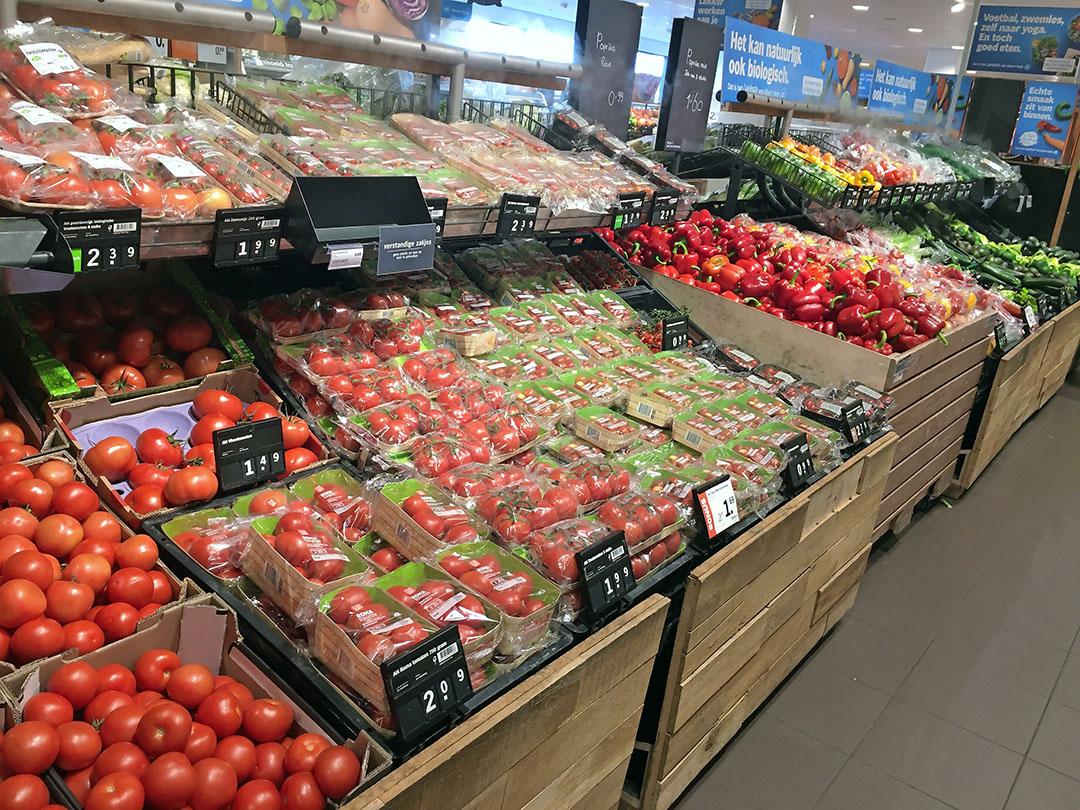 Meer tomaten en andere types tomaten verkocht in 2020. - Foto: Ton van der Scheer