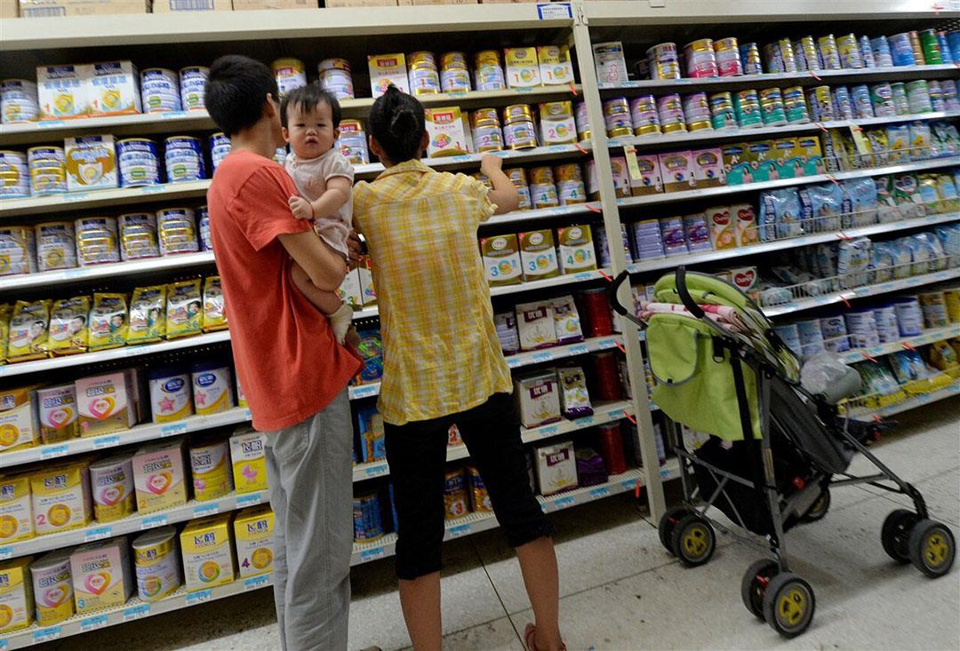 Synlait kampt met wegvallende vraag. De A2-Milk Company, een belangrijke afnemer van Synlaits babyvoeding, zag de verkopen in China flink dalen. Foto: AFP