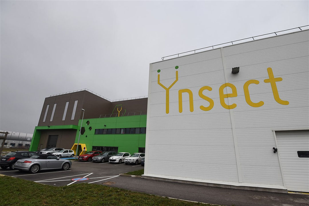 Locatie van Ÿnsect in het Franse Dole. Ÿnsect neemt de Nederlandse insectenkweker Protifarm over.  - Foto: ANP